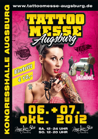 Tattoo Messe Augsburg 2010